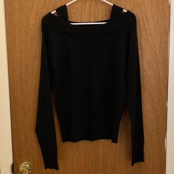 Sky Sweaters - Sky off-the-shoulder Sweater